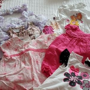Baby girl summer clothes 0 - 3 months